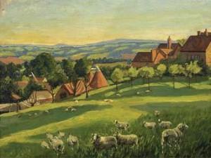 Пейзаж Уинстона Черчилля