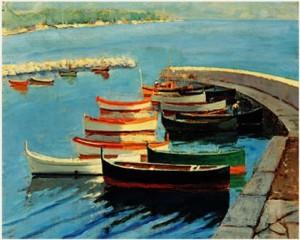 Морская тема в картинах Черчилля