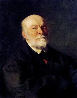 Портрет Н.Пирогова в исполнении И. Репина